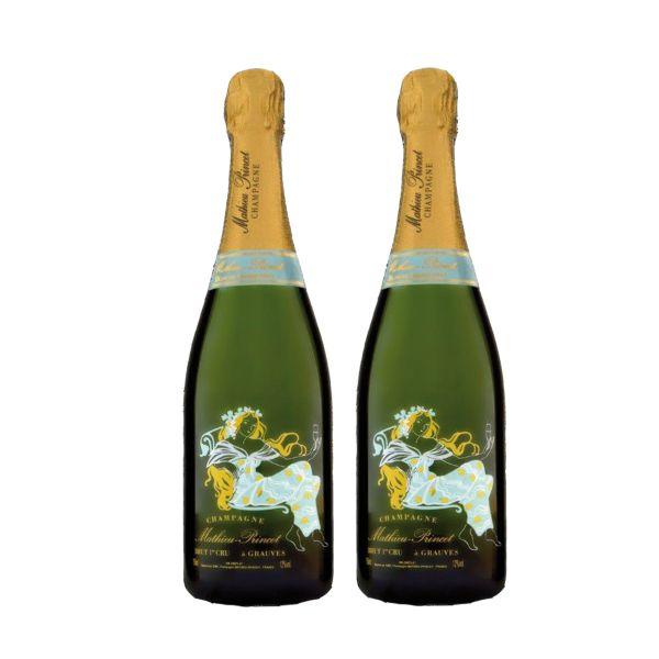 Champagner im Doppelpack
