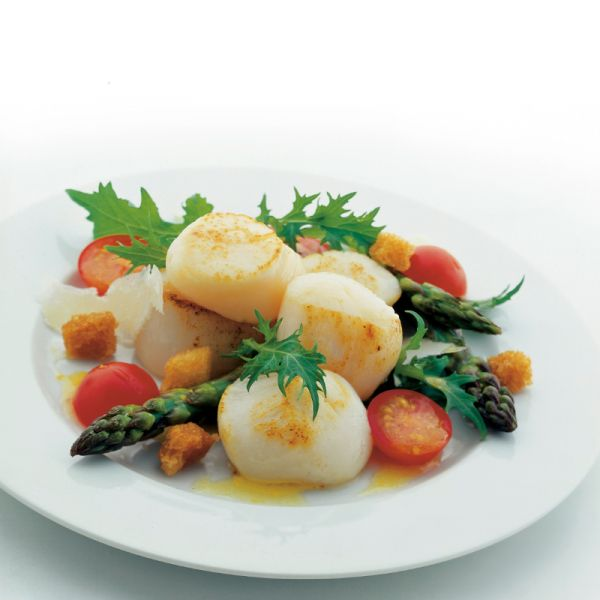 Kanadische Sea Scallops