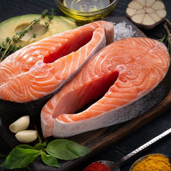 Red King Lachs Steaks