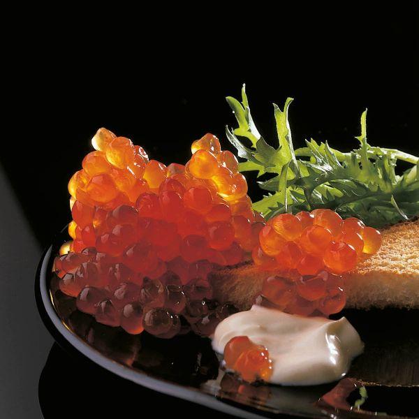 Keta-Wildlachs-Kaviar