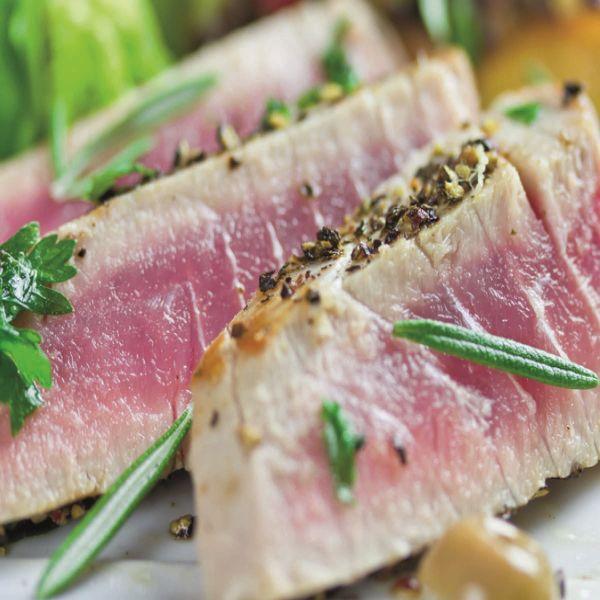 Yellowfin-Thunfischfilets