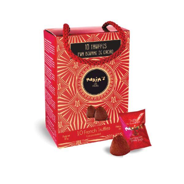Kakaobuttertrüffel im Ballotin