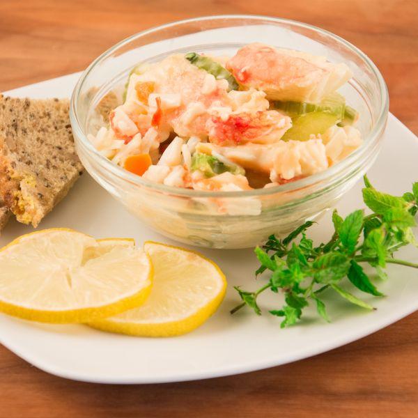 Königskrabben-Salat